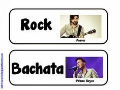 Fun ideas to bring different rhythms to class! ¡Perfecto para los viernes!