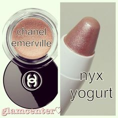 .@glamcenter | Who doesn't love a CHANEL DUPE?!?!?!!!! -nyx jumbo eye pencil in yogurt -Chan... | Webstagram - the best Instagram viewer