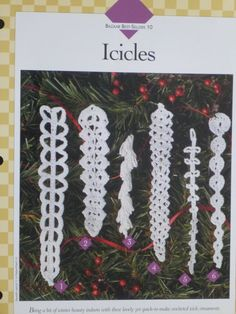 Icicles pattern Vanna's 826 by CarolsCreations77 on Etsy, $2.00