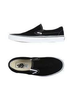 VANS Women's Low-tops & sneakers Black 8.5 US
