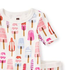 """Some of us call the frosty treats featured on these pajamas """"popsicles,"""" but in Australia, people call them """"icypoles."""""""