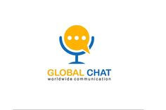 Global Chat Logo Design - Brannet Market Professional Logo Design, Minimal Logo, Coreldraw, Creative Logo, Say Hi, Business Logo, High Quality Images, Marketing, Logos