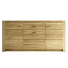 Sideboard Kommoden & Sideboards Esszimmer 80x163x42cm Massivholz Braun NEU