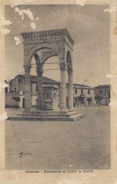 ORISTANO - Monumento ai Caduti in Guerra (12.10.32)