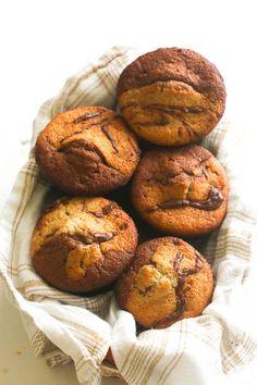 Banana Chocolate Coconut Muffin