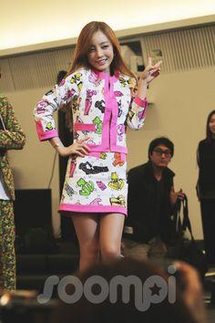 """Kara's Goo Hara at """"A Style For You"""" Press Conference"""