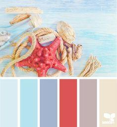 Sea hues
