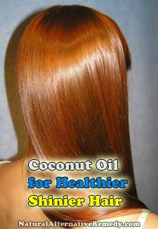 Use Coconut Oil for Healthier, Shinier Hair