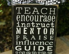 Teach encourage guide instruct influence mentor by SayzItAll