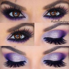 Gorgeous Makeup: Tips and Tricks With Eye Makeup and Eyeshadow – Makeup Design Ideas Bold Eye Makeup, Purple Eye Makeup, Purple Eyeshadow, Makeup For Green Eyes, Eye Makeup Tips, Smokey Eye Makeup, Skin Makeup, Eyeshadow Makeup, Makeup Ideas