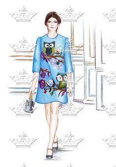 Dolce&Gabbana Owls - Doll Memories