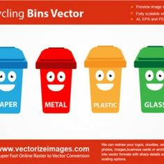 La papelera de reciclaje de historietas con la cara