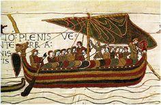 Bayeux Tapestry - Flotte Normande - Norman fleet