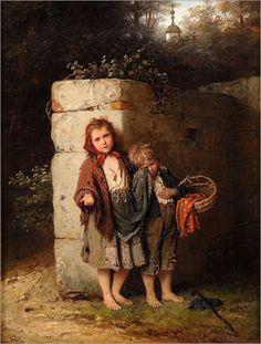 """""""Orphans"""" -- by Johann Georg Meyer von Bremen"""