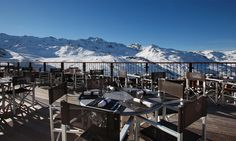 Hotel Koh-I Nor in Val Thorens, France #hotel #mountain #view #terrace