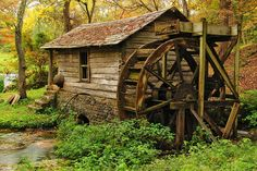 Landscape of my Childhood, by Heather Luby |Reed Spring Mill, courtesy Greg Matchick