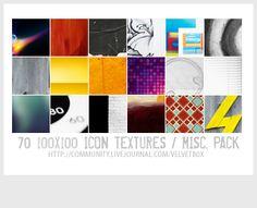 caja de seda * velvetb0x - 49. icon textures