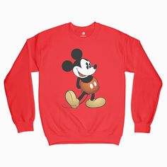 Shop graphic tees, graphic sweatshirts for women and men at EPARIZI, carrying great sweatshirts and t shirt designs from best designers around the world. Graphic Tees, Graphic Sweatshirt, T Shirt, Mickey Mouse, Cool Designs, Shirt Designs, Sweatshirts, Classic, Sweaters