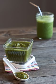 Kale + Spinach + Apples + Zucchini + Parsley + Ginger — Baby Food-e | organic baby food recipes to inspire adventurous eating