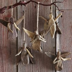 Rustic and natural pieces of driftwood make up these unique holiday angels. Perfect for the beach house or your cozy cabin in the wintry woods. ** Remember to type: HOHOHOLIDAYS for free shipping **