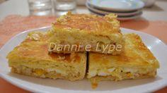 Torta de milho e palmito sem lactose