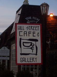 Hill Street Cafe & Gallery has great sandwiches with some great art to look at, too. #HillStreetCafe #Gallery #Art