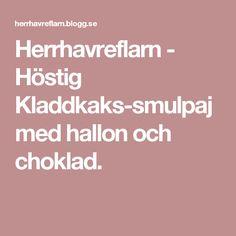 Herrhavreflarn - Höstig Kladdkaks-smulpaj med hallon och choklad.