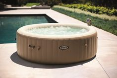 Intex PureSpa Portable Bubble Massage Spa for sale online Best Gas Barbecue, Spa 6 Places, Intex Whirlpool, Spa Intex, Inflatable Hot Tub Reviews, Bubble Spa, Round Hot Tub, Pond Waterfall, Spa Massage