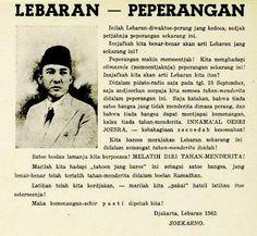 Ini dia tulisan BunG karno di media Majelis Islam A'la Indonesia (MIAI) 70 tahun lalu. MIAI kemudian diubah Jepang menjadi Masyumi.