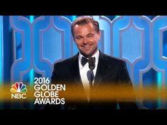 Leonardo DiCaprio Recognizes Indigenous Cultures During Golden Globes Acceptance Speech