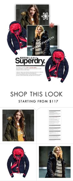 """The Cover Up – Jackets by Superdry: Contest Entry"" by vinograd24 ❤ liked on Polyvore featuring Superdry and Arche"