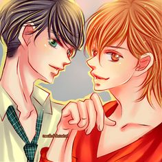 Mizuki y Taiyou - 4-gatsu no Kimi Spika by IAMeikoD on DeviantArt