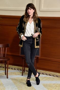 Lou Doillon at Chanel's fall 2015 show. Photo: Pascal Le Segretain/Getty Images
