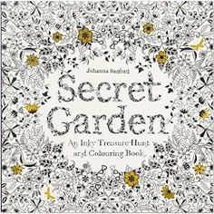 Secret Garden: An Inky Treasure Hunt and Coloring Book __ bohemianizm Holiday Gift Guide 2015: 75 Awesome Art-Related Present Ideas | bohemianizm