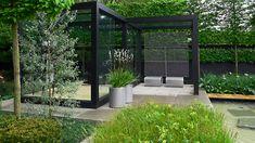 daily telegraph garden / chelsea flower show 2009 Outdoor Rooms, Outdoor Gardens, Outdoor Living, Outdoor Furniture, Modern Landscaping, Backyard Landscaping, Landscaping Ideas, Interior Design Minimalist, Casas Containers