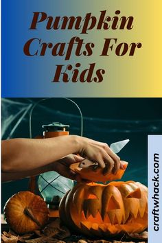 Have a look at our gorgeous colorful, and fun-shaped pumpkin crafts for kids on Craft Whack. There are so many creative ways to craft pumpkins as a whole, as well as the bits and pieces, and even the littlest of children should be able to enjoy these crafts with an adults' help and supervision. Tackle these ingenious crafts and get your child to join in with decorating as you experience this time together. See the fun crafts here. #PumpkinCrafts #Pumpkins #Crafts #Halloween