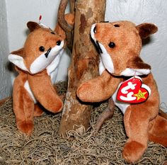 a50e5816109 See more. Ty Beanie Babies Fox  Sly  Vintage Retired by ParadeOfMemories Beanie  Babies