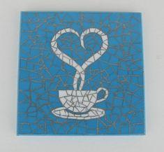 Mosaic Tray, Mosaic Wall Art, Mosaic Glass, Mosaic Tiles, Mosaic Designs, Mosaic Patterns, Mosaic Cafe, Glue Art, Flower Wall Decor