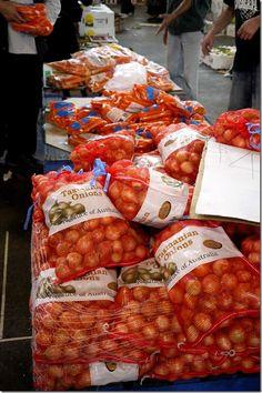 Onions, Sydney Markets