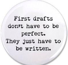 How to Write a First Draft: A Novel Approach