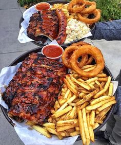 : grubspot - December 06 2018 at - and Inspiration - Yummy Fatty Meals - Comfort Foods Recipe Ideas - And Kitchen Motivation - Delicious Steaks - Food Addiction Pictures - Decadent Lifestyle Choices Food Porn, Bbq Ribs, Food Goals, Aesthetic Food, Food Cravings, I Love Food, Soul Food, Food And Drink, Foodies