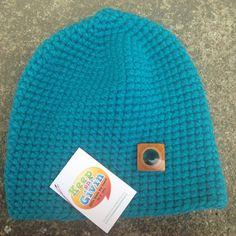 Unisex crochet skull cap made with super bulky yarn by keepongivin