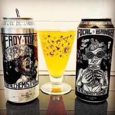 Photo and text by @jamesperrycraft  Heady Topper (DIPA) & Focal Banger (IPA) by The Alchemist. If you followed the directions on the cans  you wouldn't get to see the hazy golden orange colours or fully appreciate the dankcitrus/tropical melon tasteand bitter sweet notes: all nicely balanced.#ipa#dipa#hopops#hoppybeer#thealchemist#vermontbeer#beercanart #motobrewtour #craftkulture #craftbeerrevolution #beeradvocate#craftist#beertography#brewtography#beercan#padawancervejeiro…