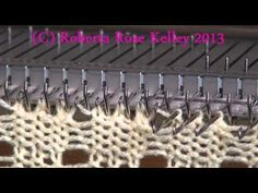 Machine Knitting Experiences: Increase using Transfer Tool (Baby Booties) by Carole Wurst - YouTube