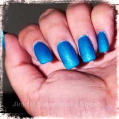 Blue on Blue by Jin Jit