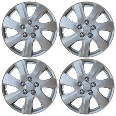 "Studio 4 Piece Hubcaps WJ-5077-B-16 16/"" Wheel Cover Wheel Trim"
