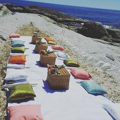 Beach Picnic Wedding  Dial-a-Picnic Cape Town  #dialapicnic #capetownpicnic #weddingpicnic #beachwedding #romanticpicnic #picnic www.dialapicnic.co.za Wedding Picnic, Romantic Picnics, Beach Picnic, Fun Events, Beach Weddings, Cape Town, Inspirational, Nature, Instagram
