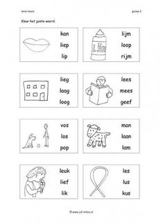 Afrikaans Language, School Resources, Vocabulary, Worksheets, Activities For Kids, Education, Homeschooling, Dutch, Study