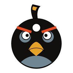 Sticker Angry Birds Bomb