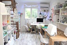 Atelier couture et bureau.